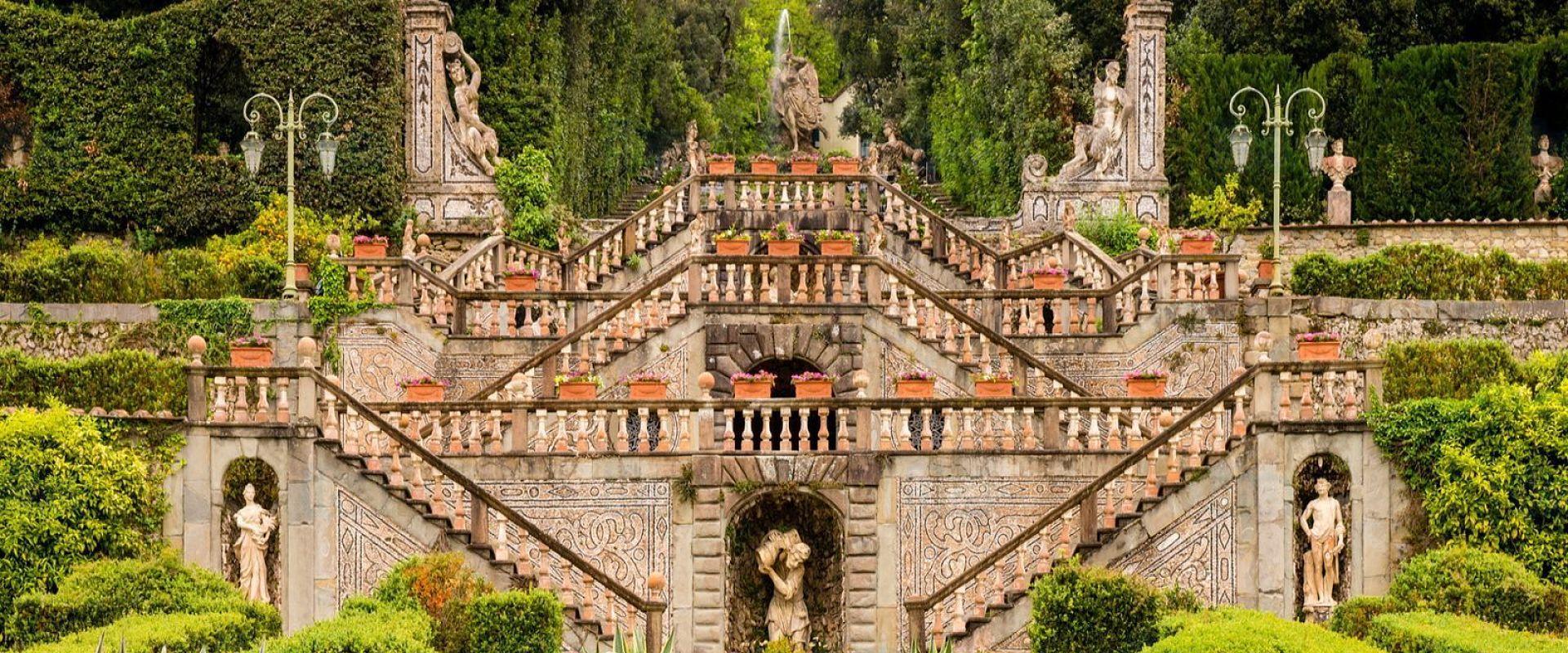 Toscane jardin Botilli