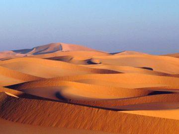 Oman désert de Wahiba Sands