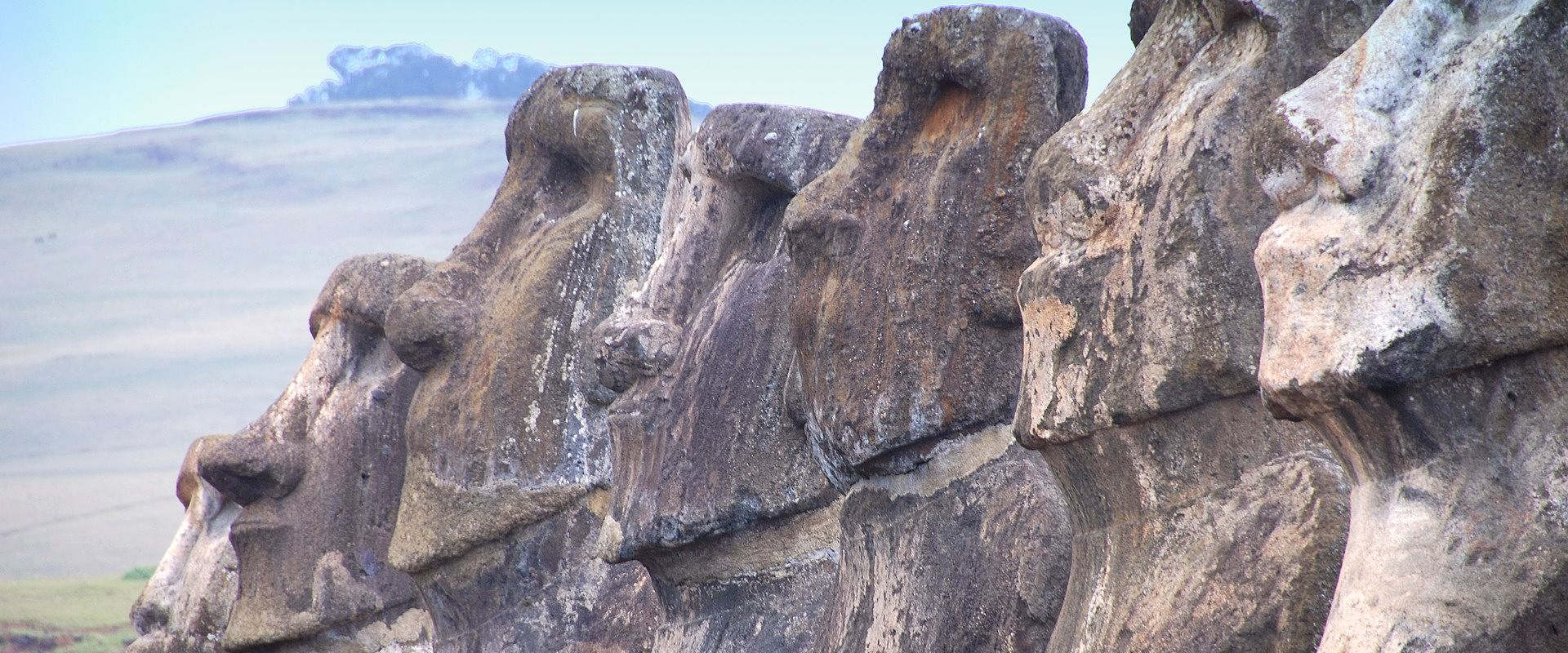 Moaïs île de Pâques